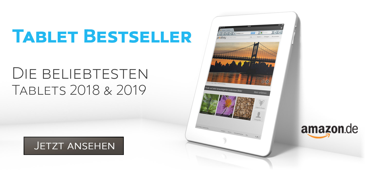 Tablet Besteller auf Amazon