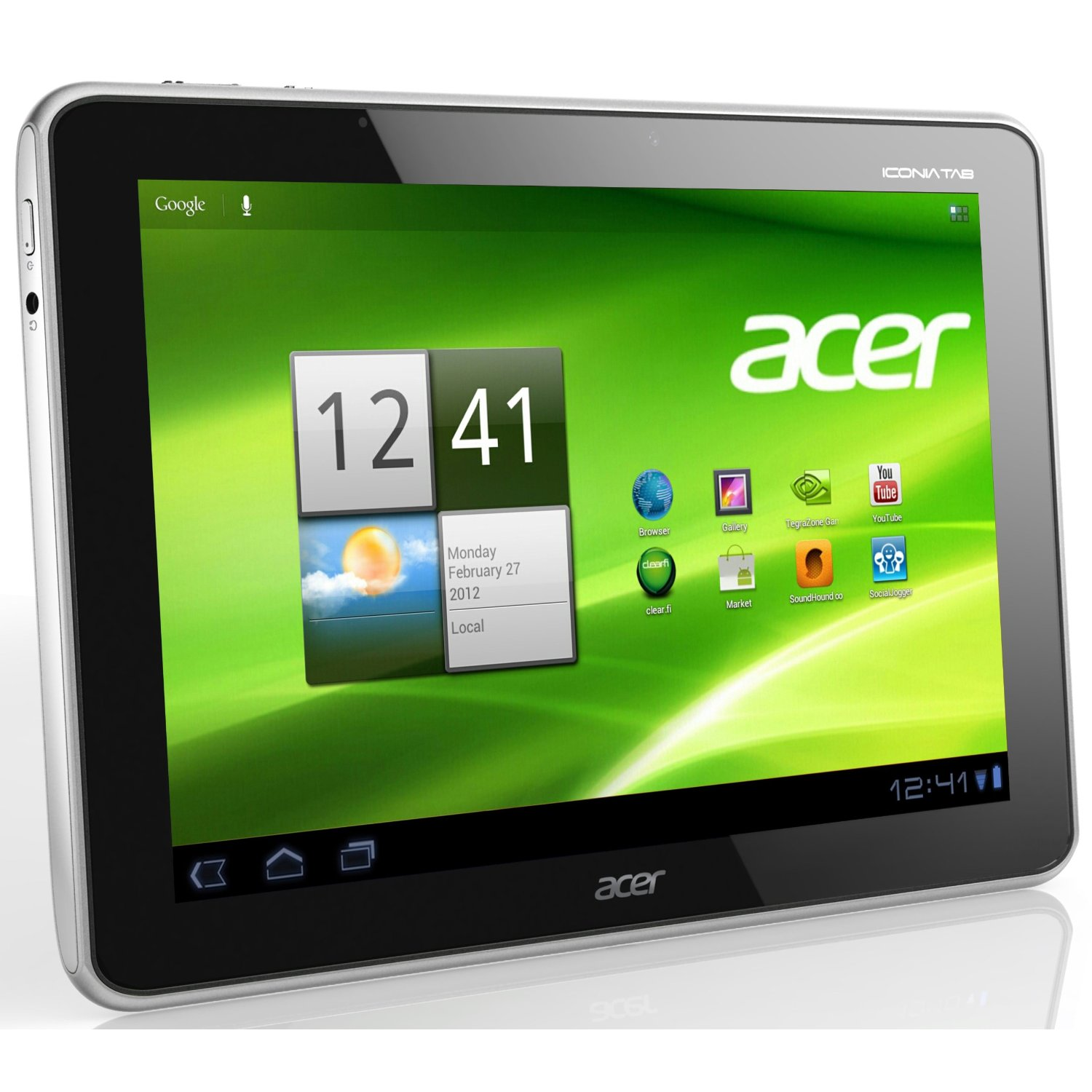 acer iconia tab a510 technische daten. Black Bedroom Furniture Sets. Home Design Ideas