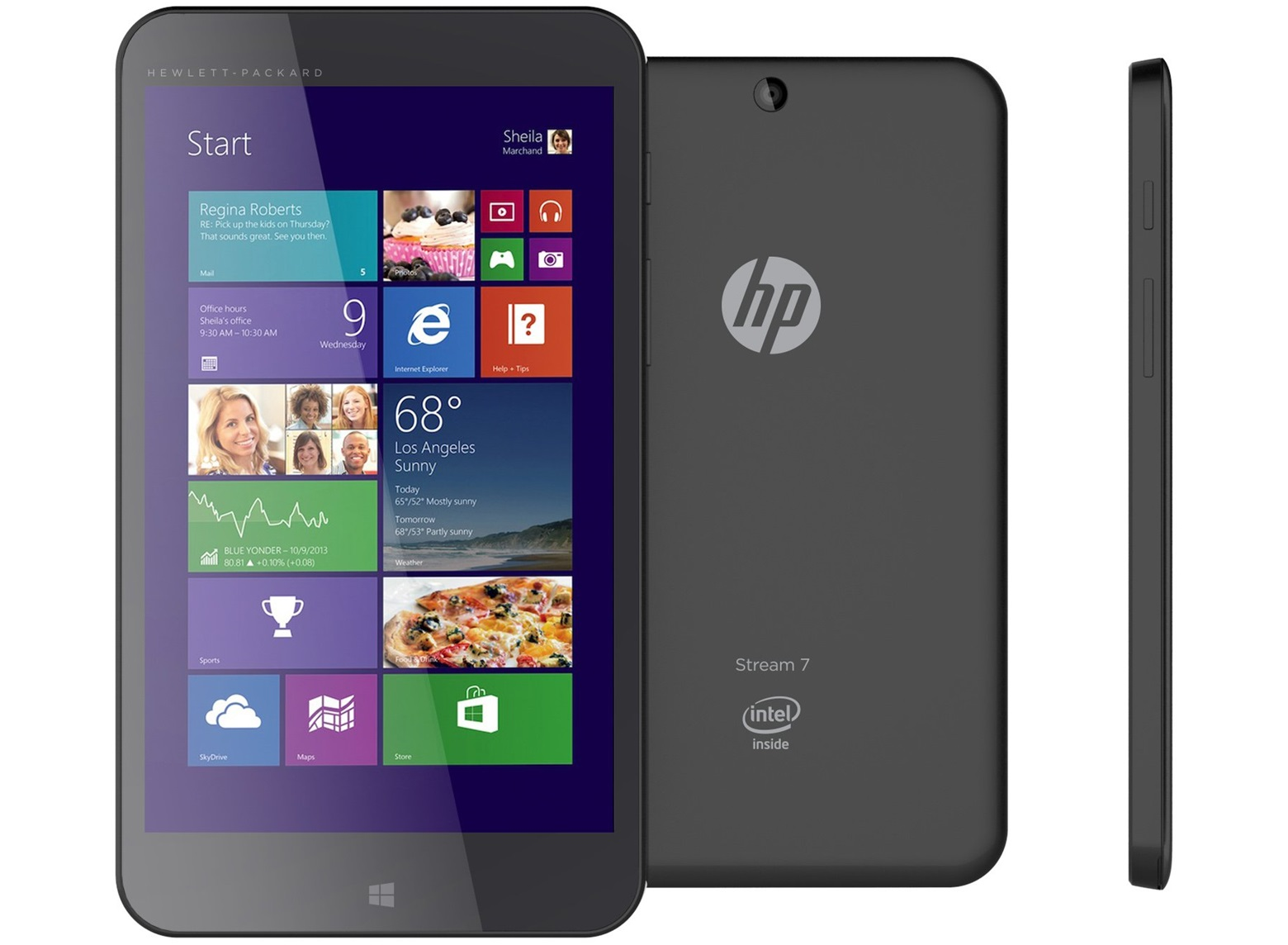 hp stream 7 zoll windows tablet