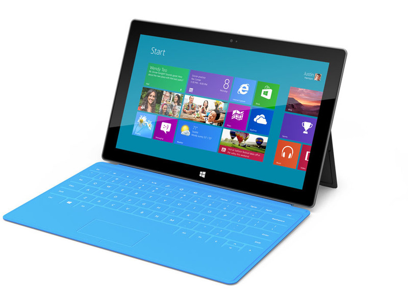 Surface Windows 8 Pro mit Case