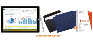 NBB Deal: Surface Pro 3 64 GB inkl. Type Cover und Office 365 für 849€