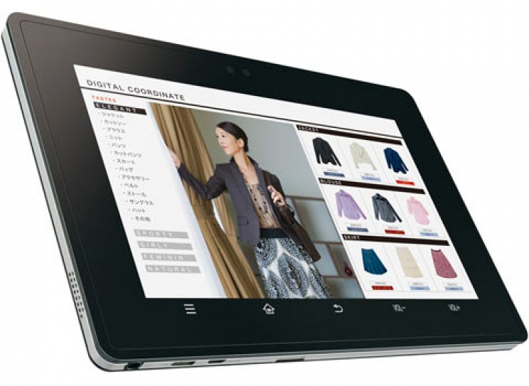 Sharp bringt erstes Business Tablet RW-T107 mit NFC Technik