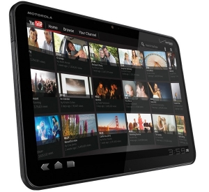 Erstes Tablet mit Android Honeycomb 3.0 OS Motorola Xoom